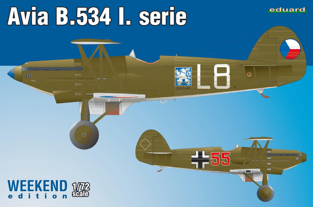 1:72 Avia B-534 I. serie (WEEKEND edition)