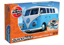 QUICK BUILD VW Camper Van (modrý)
