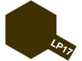 Tamiya Lacquer Paint LP-17 – Linoleum Deck Brown (10ml)