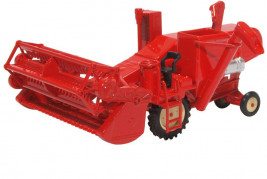 1:76 Combine Harvester Red
