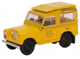 1:76 Land Rover Series II SWB Post Office Telephones Yellow