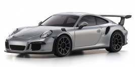 Mini-Z RWD Porsche 911 GT3 RS (Silver) with KT-531P Transmitter