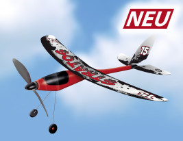 Stratos – Free Flight Model with Rubber Motor