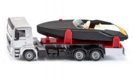 1:50 MAN Truck with Motorboat