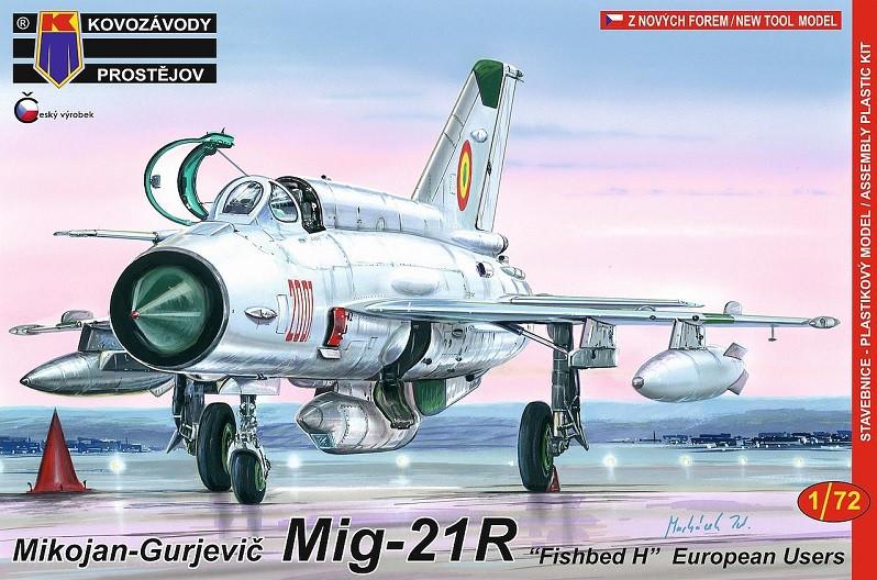 "1:72 MiG-21R ""Fishbed H"""
