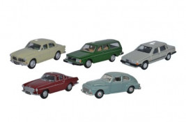 1:76 Volvo Set 5 Piece Set