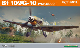 Náhled produktu - 1:48 Bf 109 G-10 WNF/Diana (ProfiPACK edition)