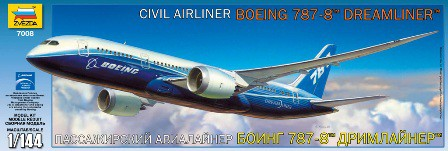 View Product - CIVIL AIRLINER 1:144 Boeing 787-800 Dreamliner