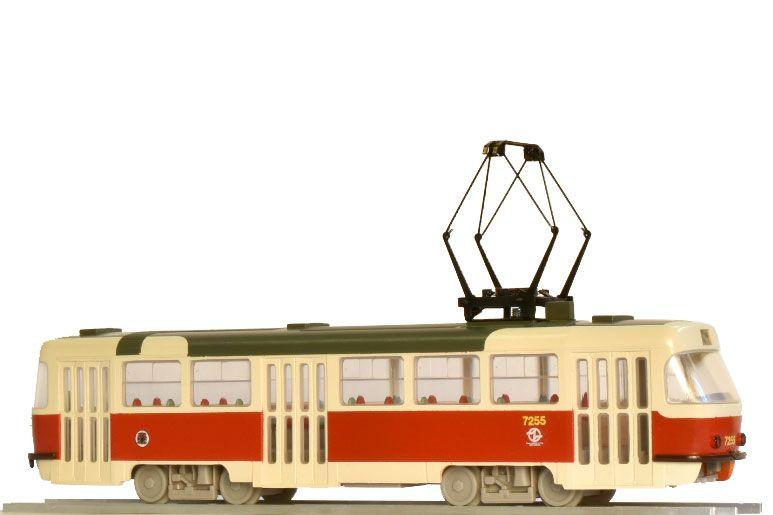 1:87 Tramvaj ČKD Tatra T3SUCS, DP Praha, epocha VI