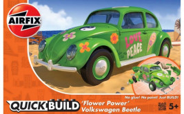 QUICK BUILD Volkswagen Beetle (Flower Power)