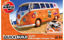 QUICK BUILD VW Camper Van (Surfin)