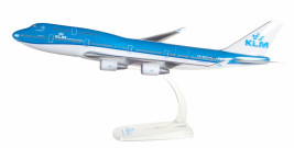 1:250 Boeing 747-406M, KLM Royal Dutch Airlines, 2000s Colors (Snap-Fit)