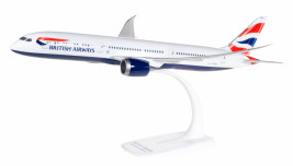 1:200 Boeing 787-9, British Airways, 2010s Colors (Snap-Fit)