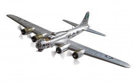 1:72 Boeing B-17G Flying Fortress, 44-6009, Flak Eater