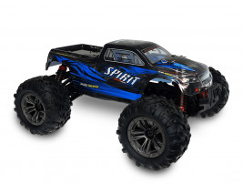 1:16 RC auto Spirit Monster Truck 4WD 2.4GHz RTR (modré)