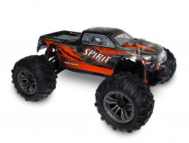 1:16 RC auto Spirit Monster Truck 4WD 2.4GHz RTR (červené)