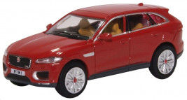 1:76 Jaguar F Pace Italian Racing Red