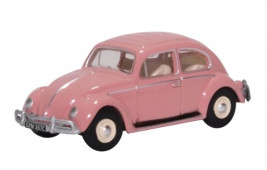 1:76 VW Beetle Pink UK Reg