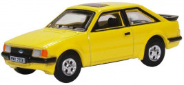 1:76 Ford Escort XR3i Prairie Yellow