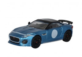 1:76 Jaguar F Type Project 7 Ultra Blue