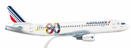 1:100 Airbus A320-214, Air France, 2010s Colors (Snap Fit)