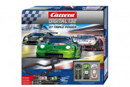 Autodráha Carrera Digital 132 – Triple Power