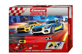Autodráha Carrera Digital 143 – High Speed Getaway
