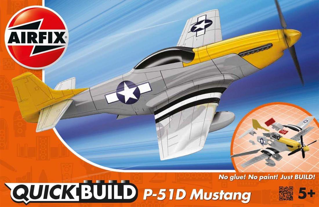 QUICK BUILD P-51D Mustang