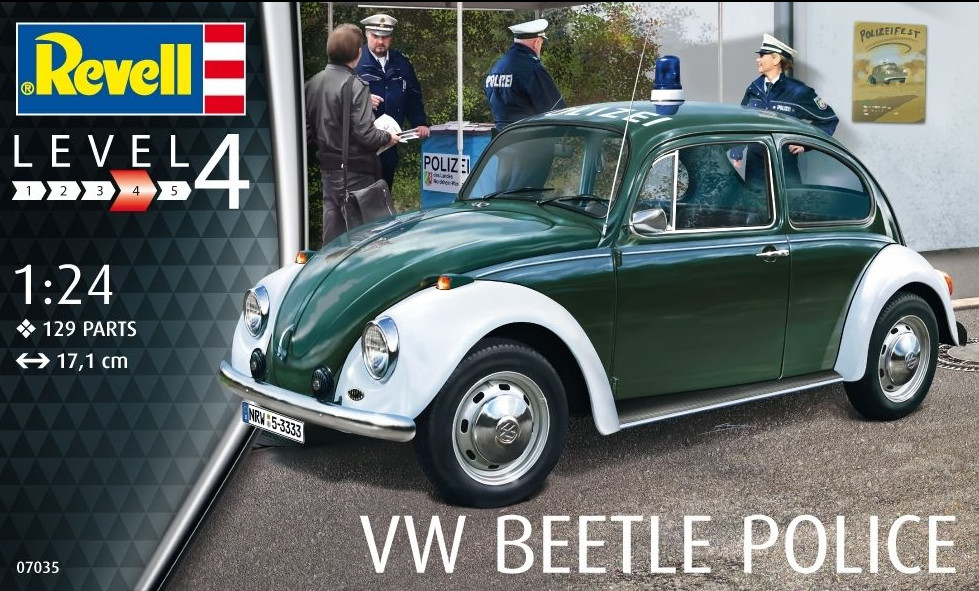 1:24 Volkswagen Beetle, Police