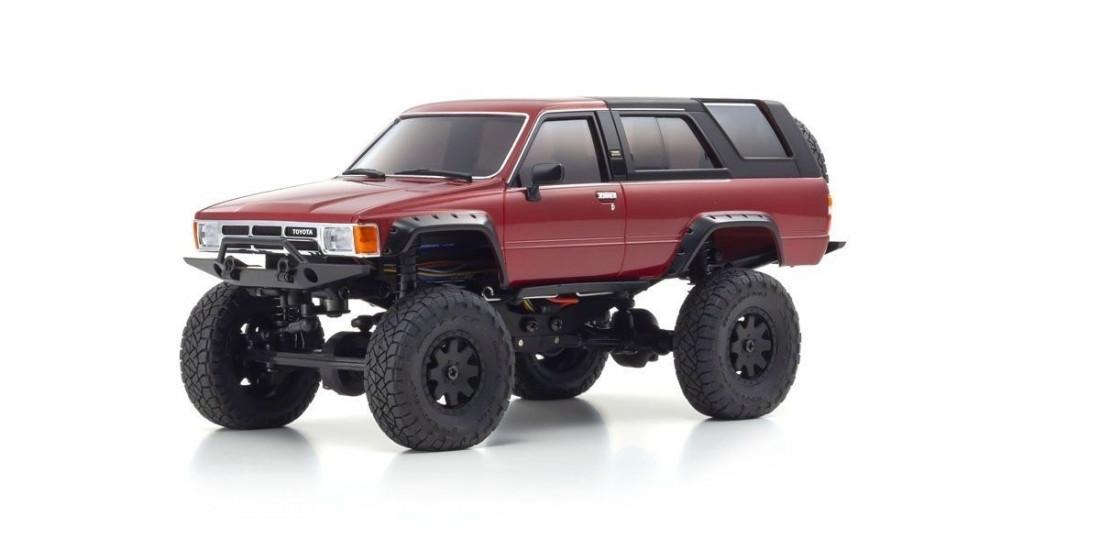 Mini-Z 4x4 Toyota 4Runner RTR s LED osvětlením (Red Metallic)