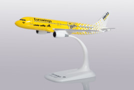 1:200 Airbus A320-214, Eurowings, Hertz Colors (Snap Fit)