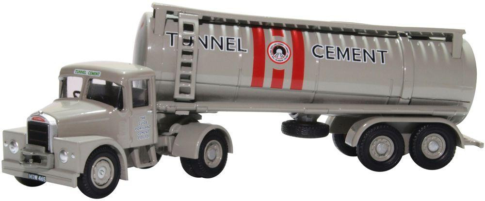 1:76 Scammell Highwayman Tanker Tunnel Cement