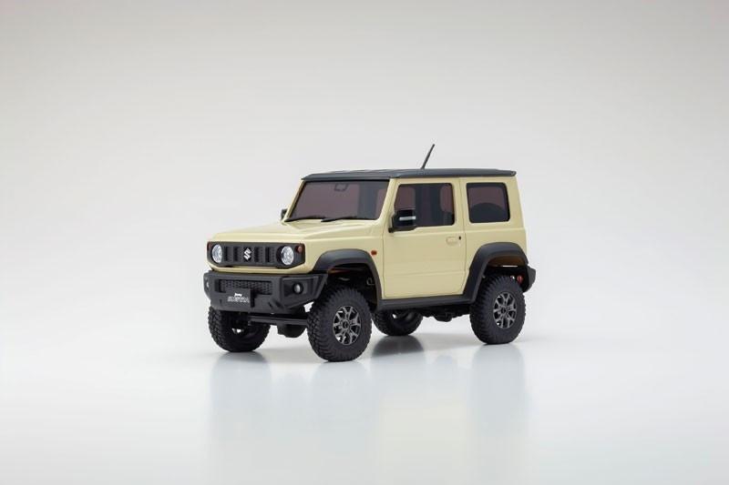 Mini-Z 4x4 Suzuki Jimny Sierra RTR (Chiffon Ivory Metallic)
