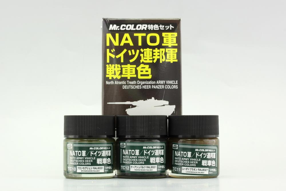 Sada farieb Mr. Color – NATO Tank Colors (3× 10 ml)