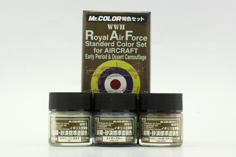 Sada farieb Mr. Color – WWII RAF Early Period (3× 10 ml)