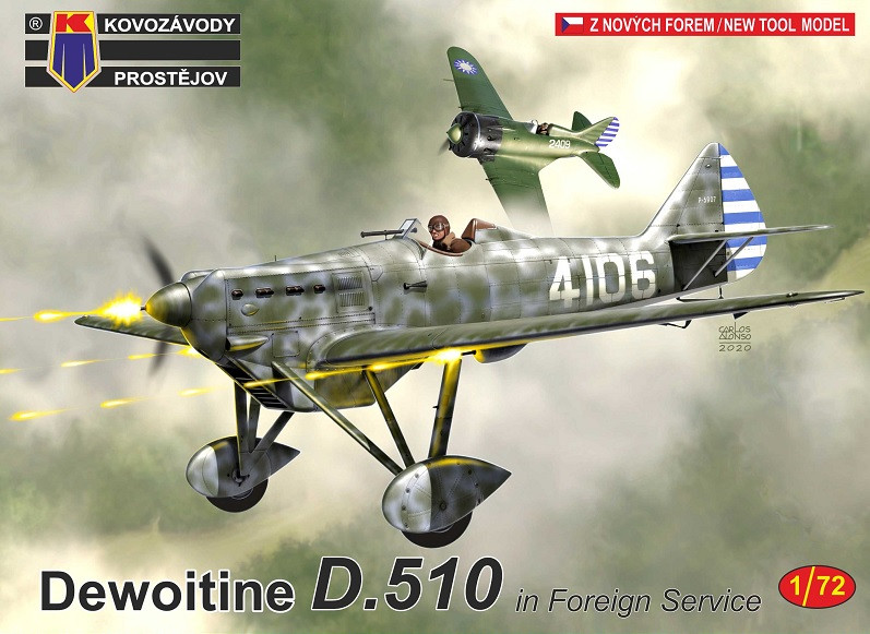 """1:72 Dewoitine D.510 """"in Foreign Service"""""""