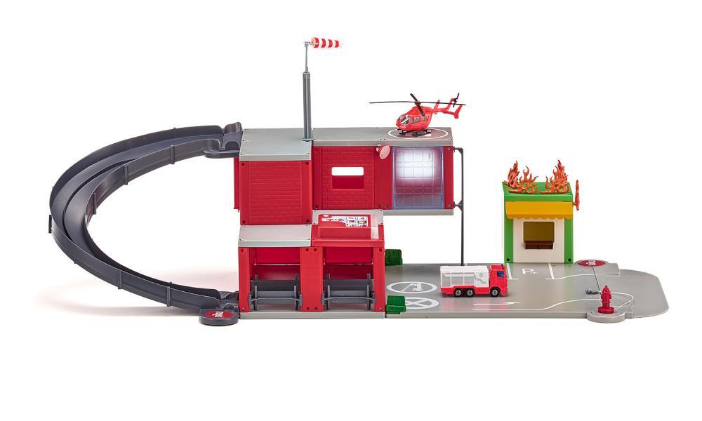 SIKU World – hasičská stanica