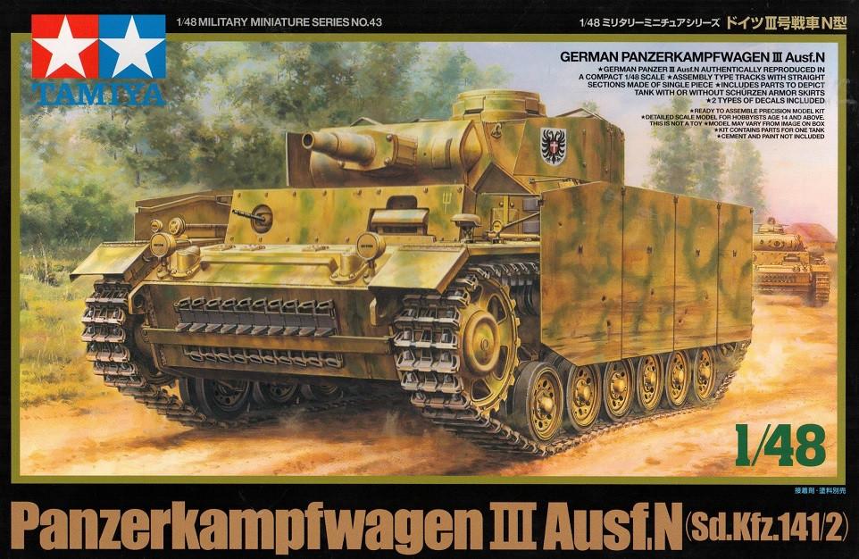 1:48 Panzerkampfwagen III Ausf.N