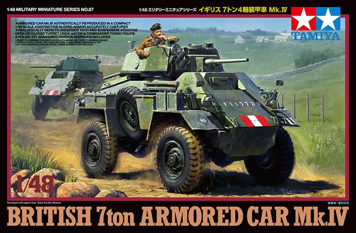 1:48 British Armored Car Mk.IV
