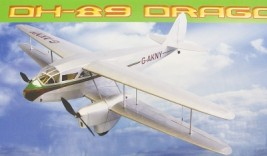 deHavilland DH-89 Dragon Rapide 1067 mm
