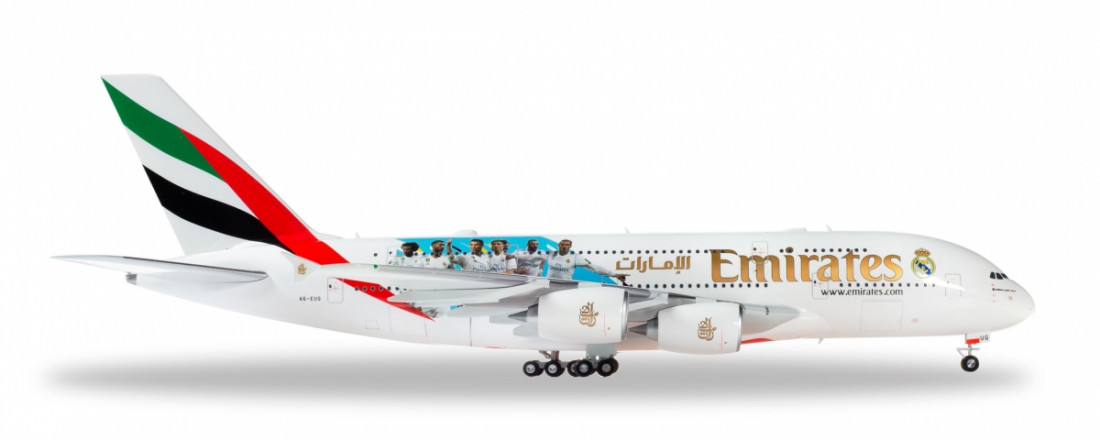 1:200 Airbus A380 Emirates, 2010s Colors, Real Madrid C.F. 2018