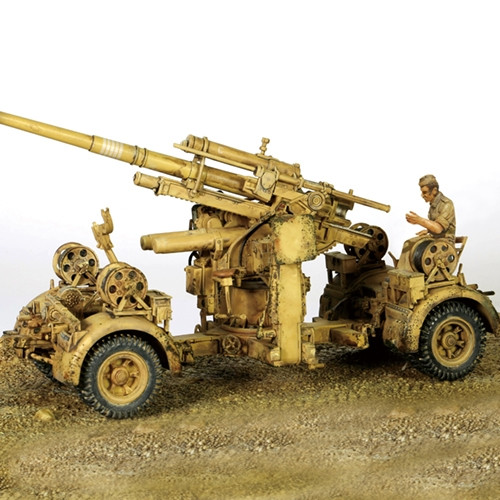 1:32 88mm FlaK 36, DAK, El Alamein, North Africa, June 1942