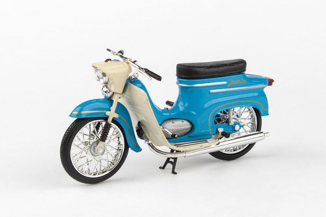 1:18 Jawa 50 Pionýr Type 20, 1967 (modrá)
