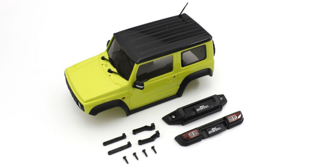 Mini-Z 4x4: Karoserie Suzuki Jimny Sierra (Kinetic Yellow)