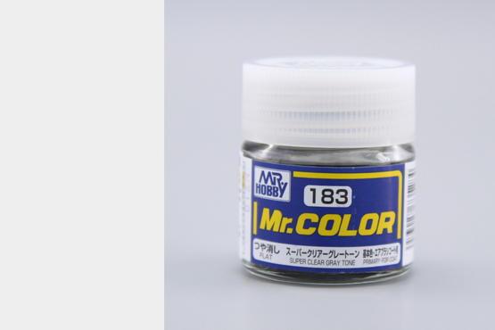 Mr. Color lak akrylový č. 183 – Super Clear Gray Tone (10 ml)