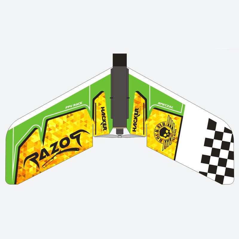 Razor FPV ARF 900 (zelený)