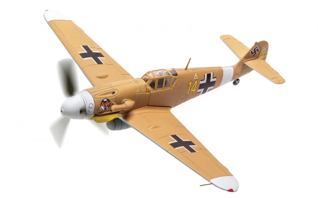 1:72 Messerschmitt Bf 109 G-2 (Trop), Yellow 14, Hans Joachim Marseille