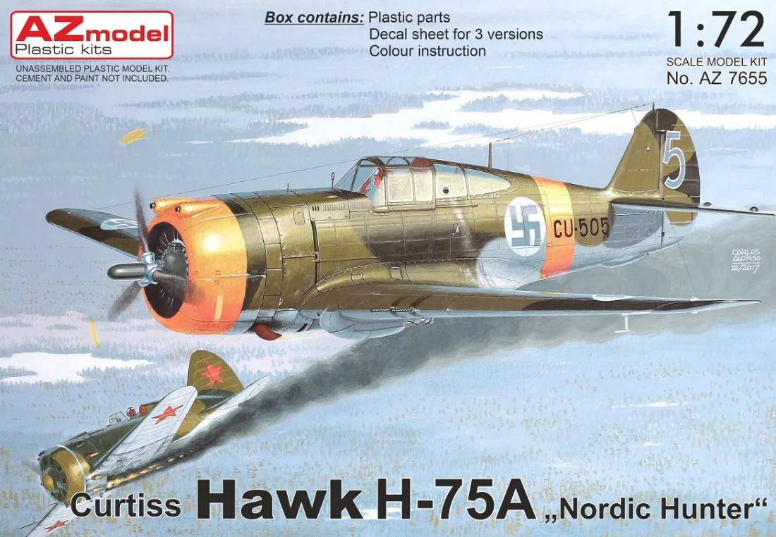 "1:72 Curtiss Hawk H-75A ""Nordic Hunter"""