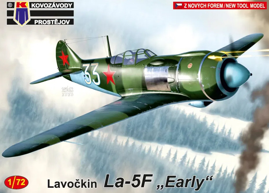 "1:72 Lavočkin La-5F ""Early"""