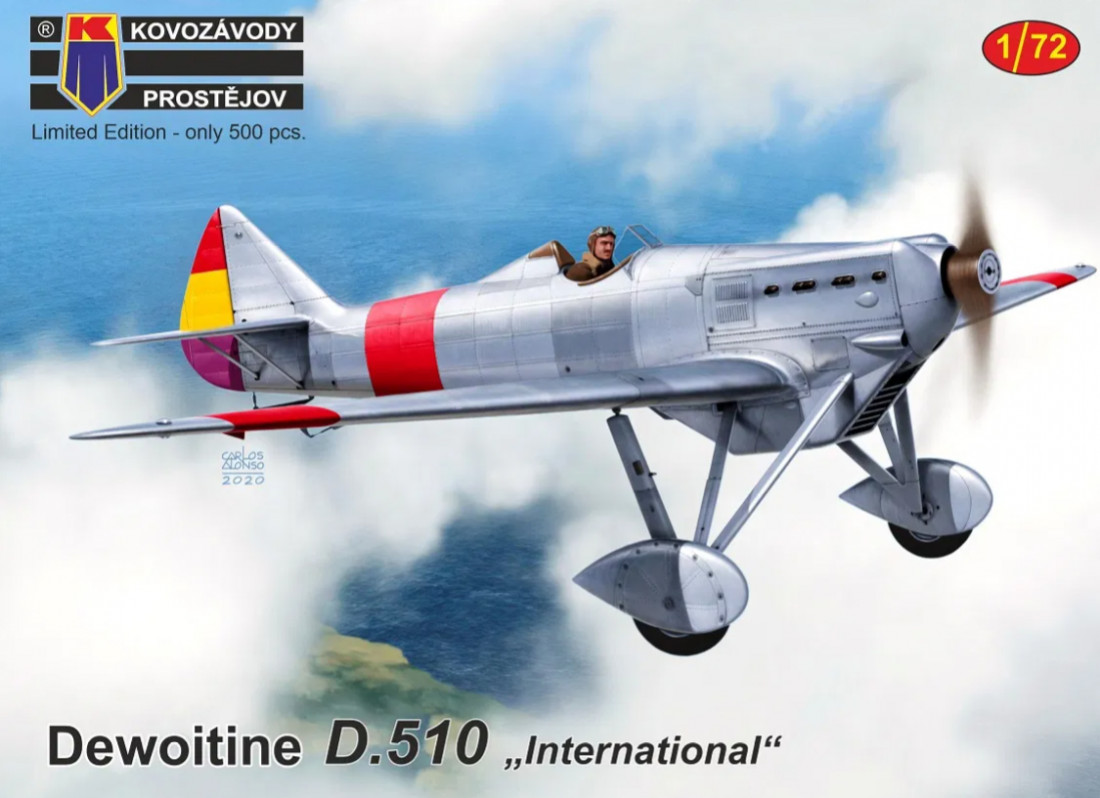 "1:72 Dewoitine D.510 ""International"""